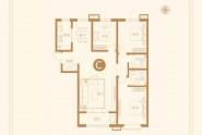 5#C户型三室两厅两卫127㎡