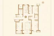 3#B户型三室两厅两卫135㎡