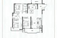宽景高层三室两厅两卫132㎡