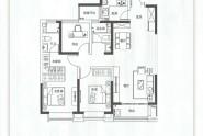 宽景高层三室两厅两卫117㎡